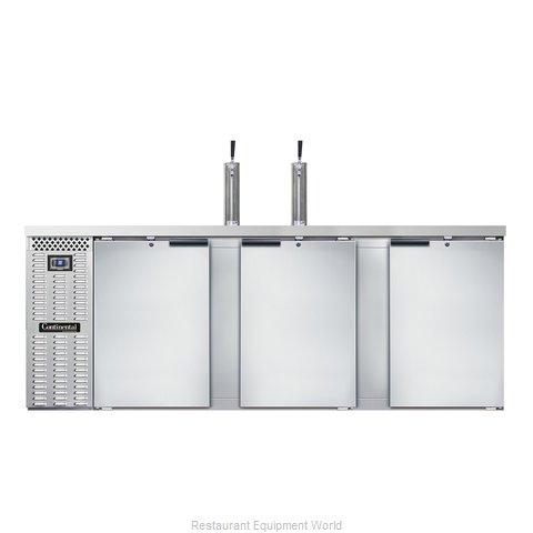 Continental Refrigerator KC90-SS Draft Beer Cooler