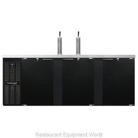Continental Refrigerator KC90N Draft Beer Cooler