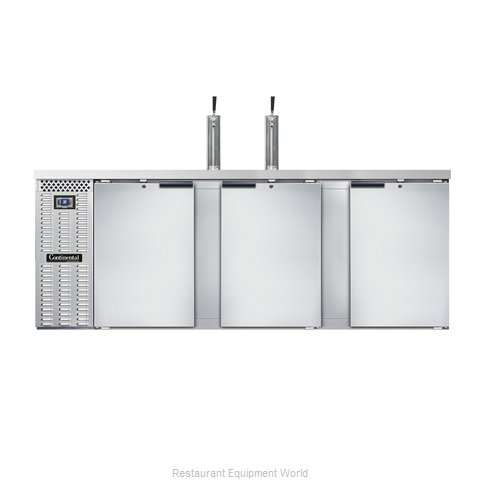 Continental Refrigerator KC90S-SS Draft Beer Cooler