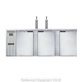 Continental Refrigerator KC90SNSS Draft Beer Cooler
