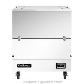 Continental Refrigerator MC3-DCW Milk Cooler / Station