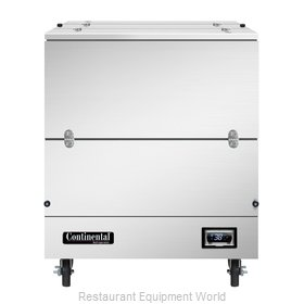 Continental Refrigerator MC3-SS-DCW Milk Cooler / Station