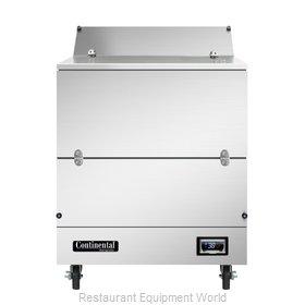 Continental Refrigerator MC3-SS-S Milk Cooler / Station