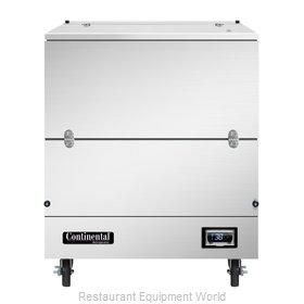 Continental Refrigerator MC3-SS-SCW Milk Cooler / Station