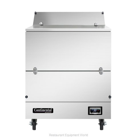 Continental Refrigerator MC3NSSD Milk Cooler / Station