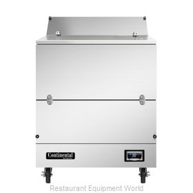 Continental Refrigerator MC3NSSS Milk Cooler / Station