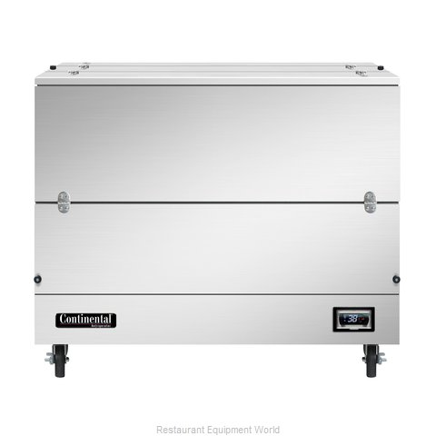 Continental Refrigerator MC4-SS-DCW Milk Cooler / Station
