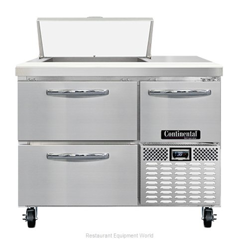 Continental Refrigerator RA43N6-D Refrigerated Counter, Sandwich / Salad Unit