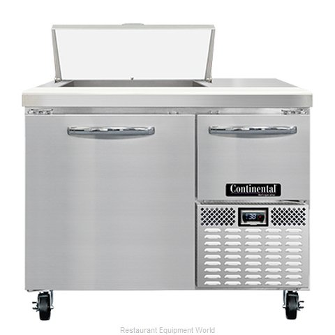 Continental Refrigerator RA43N6 Refrigerated Counter, Sandwich / Salad Unit
