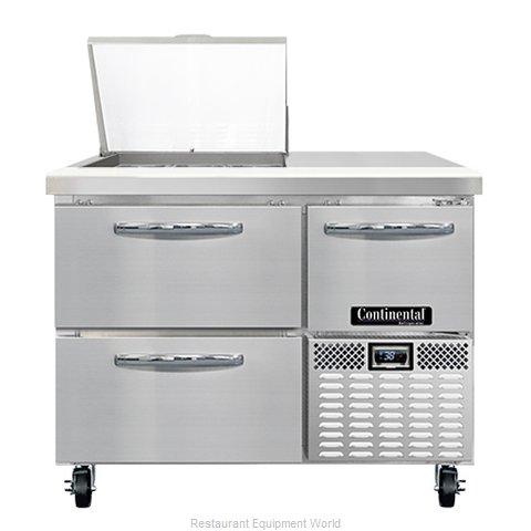 Continental Refrigerator RA43N9M-D Refrigerated Counter, Mega Top Sandwich / Sal