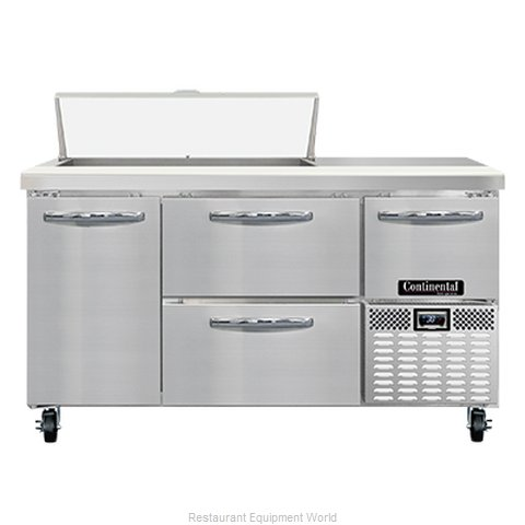 Continental Refrigerator RA60N10-D Refrigerated Counter, Sandwich / Salad Unit