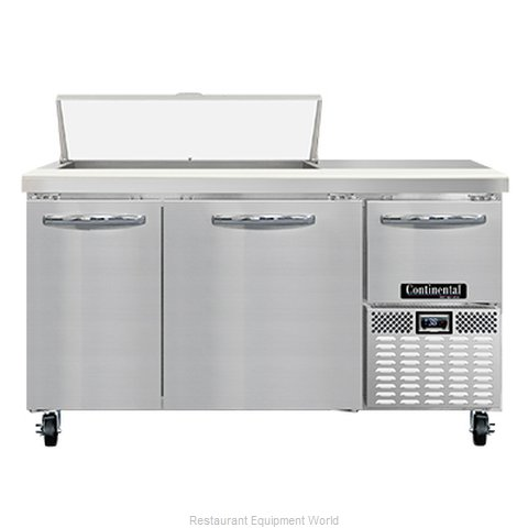 Continental Refrigerator RA60N10 Refrigerated Counter, Sandwich / Salad Unit