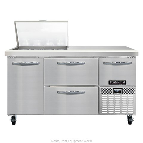 Continental Refrigerator RA60N12M-D Refrigerated Counter, Mega Top Sandwich / Sa