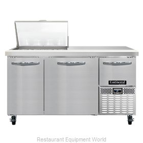 Continental Refrigerator RA60N12M Refrigerated Counter, Mega Top Sandwich / Sala