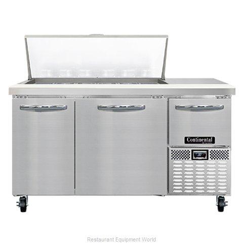 Continental Refrigerator RA60N18M Refrigerated Counter, Mega Top Sandwich / Sala