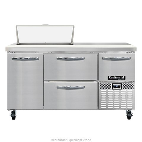 Continental Refrigerator RA60N8-D Refrigerated Counter, Sandwich / Salad Unit