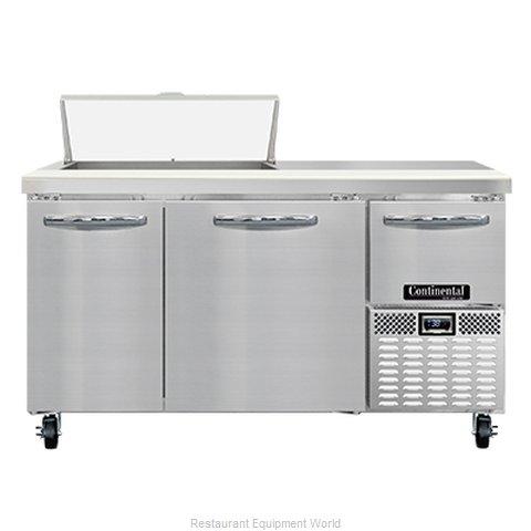 Continental Refrigerator RA60N8 Refrigerated Counter, Sandwich / Salad Unit