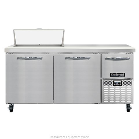 Continental Refrigerator RA68N8 Refrigerated Counter, Sandwich / Salad Unit