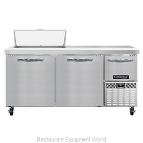 Continental Refrigerator RA68N8 Refrigerated Counter, Sandwich / Salad Unit