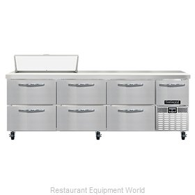 Continental Refrigerator RA93N10-D Refrigerated Counter, Sandwich / Salad Unit