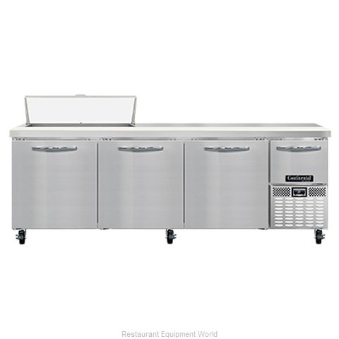 Continental Refrigerator RA93N10 Refrigerated Counter, Sandwich / Salad Unit