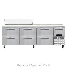 Continental Refrigerator RA93N12-D Refrigerated Counter, Sandwich / Salad Unit