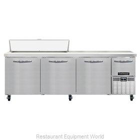 Continental Refrigerator RA93N12 Refrigerated Counter, Sandwich / Salad Unit