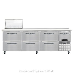 Continental Refrigerator RA93N12M-D Refrigerated Counter, Mega Top Sandwich / Sa