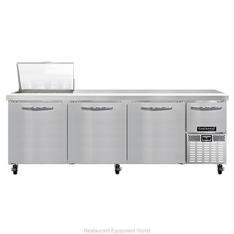 Continental Refrigerator RA93N12M Refrigerated Counter, Mega Top Sandwich / Sala