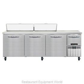 Continental Refrigerator RA93N18 Refrigerated Counter, Sandwich / Salad Unit