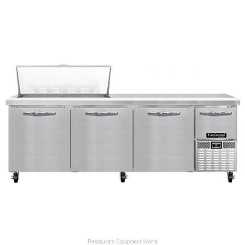 Continental Refrigerator RA93N18M Refrigerated Counter, Mega Top Sandwich / Sala
