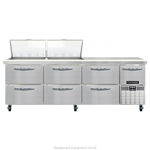 Continental Refrigerator RA93N24M-D Refrigerated Counter, Mega Top Sandwich / Sa (Magnified)