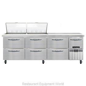 Continental Refrigerator RA93N24M-D Refrigerated Counter, Mega Top Sandwich / Sa