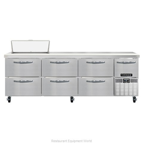 Continental Refrigerator RA93N8-D Refrigerated Counter, Sandwich / Salad Unit