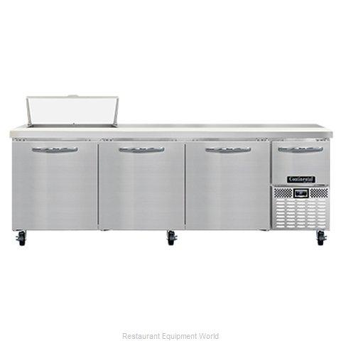 Continental Refrigerator RA93N8 Refrigerated Counter, Sandwich / Salad Unit