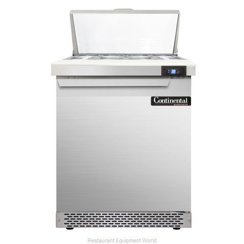Continental Refrigerator SW27-8-FB Refrigerated Counter, Sandwich / Salad Top