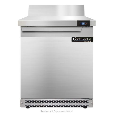 Continental Refrigerator SW27-BS-FB Refrigerated Counter, Work Top