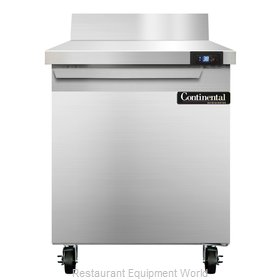 Continental Refrigerator SW27-BS Refrigerated Counter, Work Top