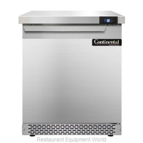 Continental Refrigerator SW27-FB Refrigerated Counter, Work Top