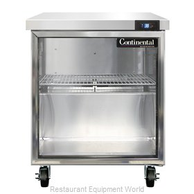 Continental Refrigerator SW27-GD Refrigerated Counter, Work Top