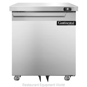 Continental Refrigerator SW27-U Refrigerator, Undercounter, Reach-In