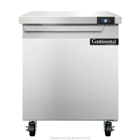 Continental Refrigerator SW27 Refrigerated Counter, Work Top