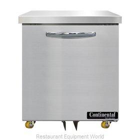 Continental Refrigerator SW27N-U Refrigerator, Undercounter, Reach-In
