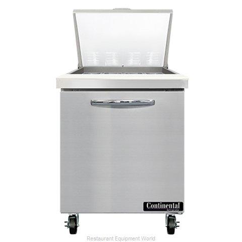 Continental Refrigerator SW27N12M Refrigerated Counter, Mega Top Sandwich / Sala