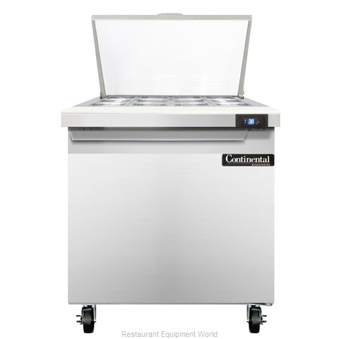 Continental Refrigerator SW32-12M Refrigerated Counter, Mega Top Sandwich / Sala
