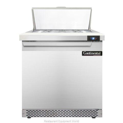 Continental Refrigerator SW32-8C-FB Refrigerated Counter, Sandwich / Salad Top
