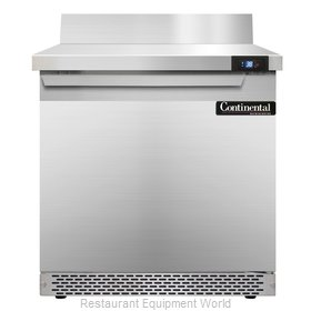 Continental Refrigerator SW32-BS-FB Refrigerated Counter, Work Top