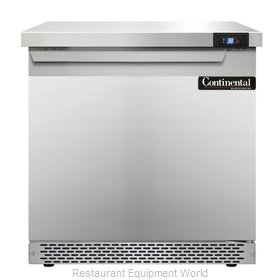 Continental Refrigerator SW32-FB Refrigerated Counter, Work Top