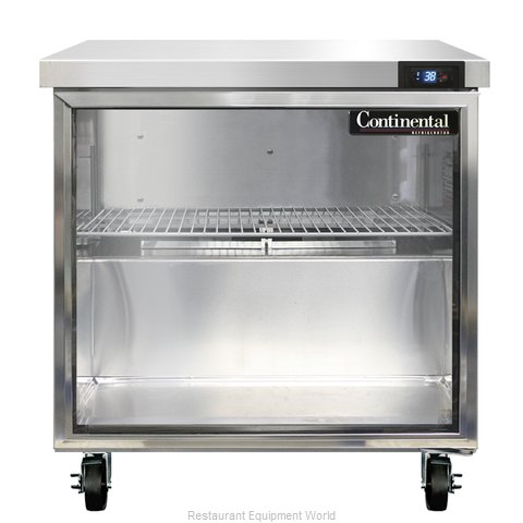Continental Refrigerator SW32-GD Refrigerated Counter, Work Top
