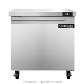 Continental Refrigerator SW32 Refrigerated Counter, Work Top